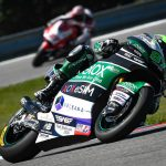 Comeback in the Czech Republic cements Remy in Top 10 overall in Moto2 standings