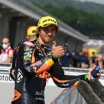 Remy takes front row start in the #GermanGP