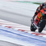 Remy faces tough opening day in the wet at Misano
